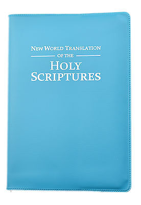 Teal Vinyl Cover - Standard 2013 BIBLE - Jehovahs Witnesses  - VC0385