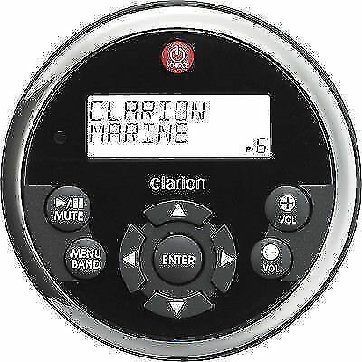 Clarion MW1 Marine Stereo Water Proof Remote Control with display BOAT Yacht