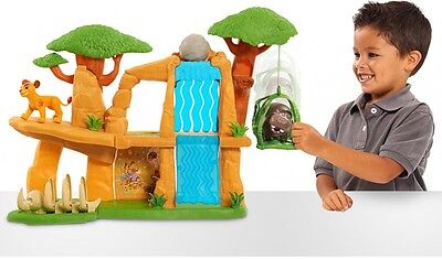 Lion King Play Set Kids Defend the pride lands Toy Gift 8 Features and Figures