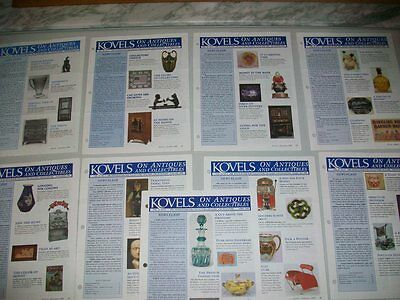 Kovel's On Antiques And Collectables Newsletter - 9 Issues From 1999 / 1996