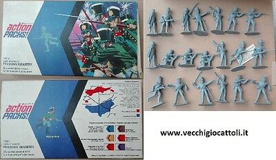 Soldatini Timpo Action packs Fanteria Prussiana Waterloo Prussian Infantry 1/32