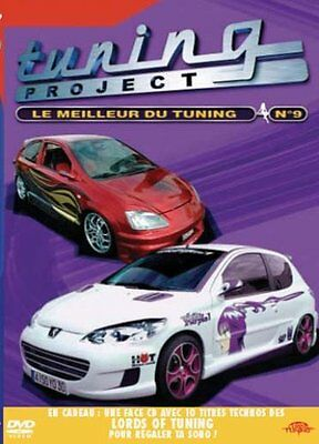 Tuning Project : Le Meilleur du Tuning - Vol.9 - DVD - NEUF