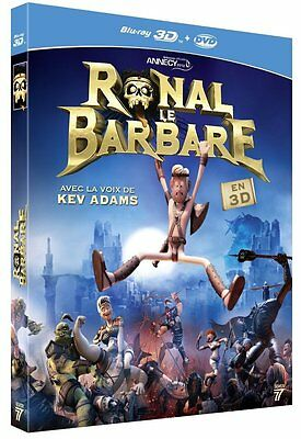 Ronal le barbare -Blu-ray 3D + DVD - Kev Adams - NEUF - Version Française -