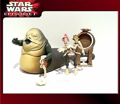 STAR WARS Episode I (E1): Jabba the Hutt with 2-headed Announcer