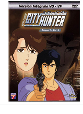 CITY HUNTER -Nicky larson Saison 1 V5 - DVD ~ Akira Kamiya - NEUF - VF