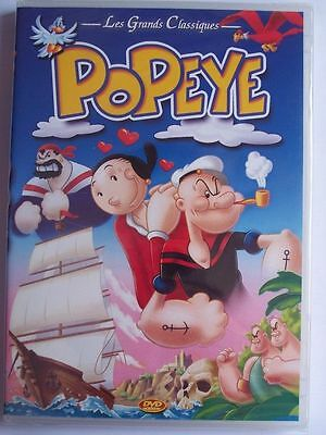 Popeye - DVD - ED Integral Family - LES GRANDS CLASSIQUES - NEUF - VF