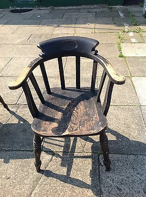 Antique Captains Chair From The Naffe