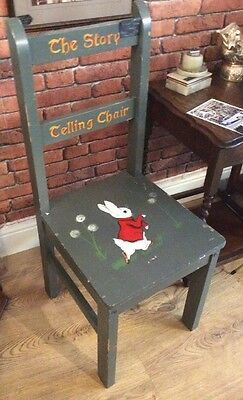 Child's story Telling Chair ~ Handpainted