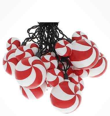 Disney Parks Mickey Mouse Peppermint Christmas Lights