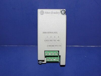 NEW Allen Bradley 2080-SERIALISOL /A Micro 800 RS232/485 Isolated Serial Port