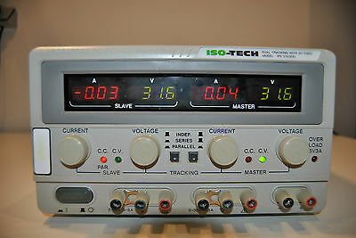 Laboratory Power Supply / Labornetzteil ISO-Tech IPS2303DD