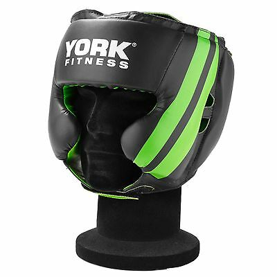 York 16oz Multifit Head Guard Adjustable Boxing Sparring Helmet Protection