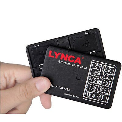 LYNCA Multifunctional Storage Card Case SD Micro SD TF Card Holder Carrying Case