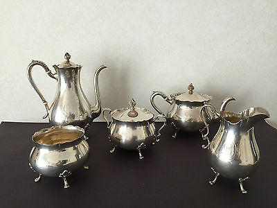 Antique Sterling Silver Fabulous Tea and Coffee Set.
