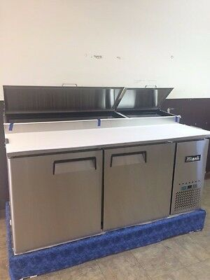 """Over Stock Sale On Migali 67"""" Pizza Prep Table"""