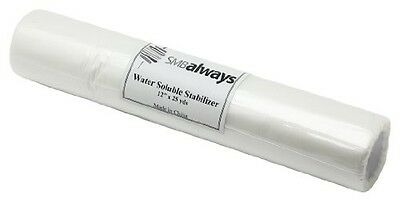 "Water Soluble Stabilizer Roll, 12"" x 25 yds"