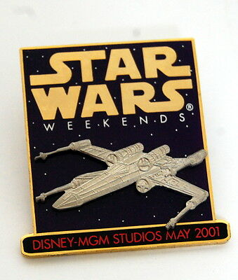 Disney Star Wars Weekend X-wing Fighter MGM Studios May 2001 Pin 5112
