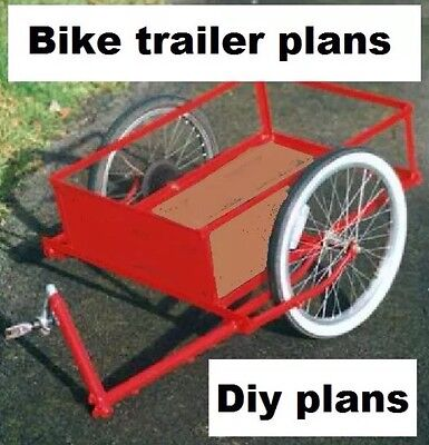 Bicycle Trailer Plans Cd Rom