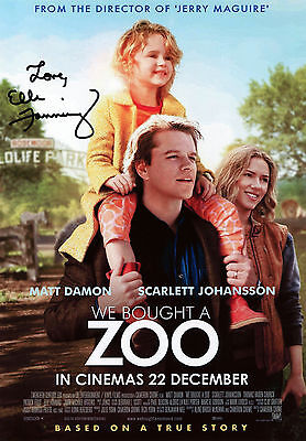Elle Fanning - Lily Miska - We Bought a Zoo - Signed Autograph REPRINT