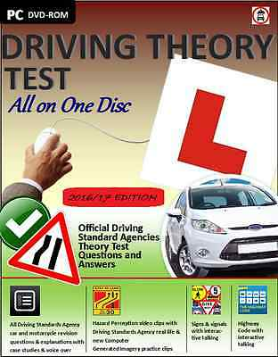 Driving Theory Test All in One 2016 - Theory and Hazard Perception CD DVD ROM