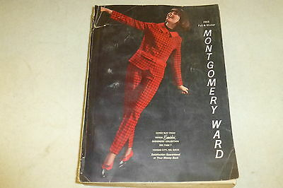 1965 Montgomery Ward's vintage store catalog Clothes/appliances/fall-winter
