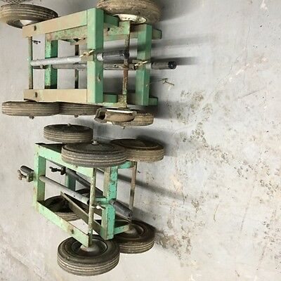 McELROY 14 PITBULL CART LOT OF 6- USED