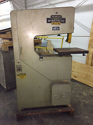 "Kalamazoo Startrite Model 24-T-10 Vertical Saw 24"" Throat"