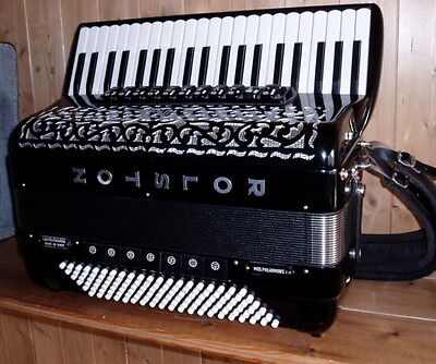 Manfrini / Rolston 120 bass  professional musette accordion in great condition