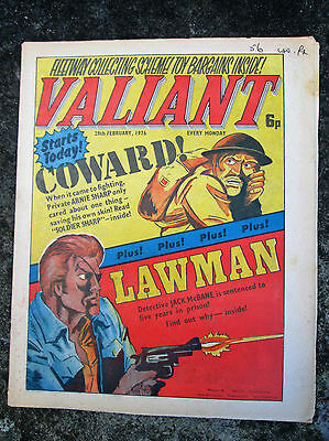 Valiant & Vulcan Comic -  dated February 28th 1976