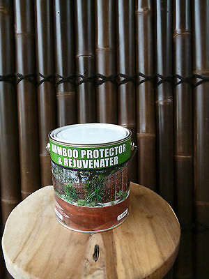 Bamboo Protector & Rejuvenator - Oil / Stain for Bamboo Panels Fencing - 4L