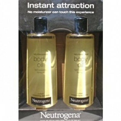 2 Pack Neutrogena Body Oil Light Sesame Formula, 2 x 16 fl. oz bottles 32 Total