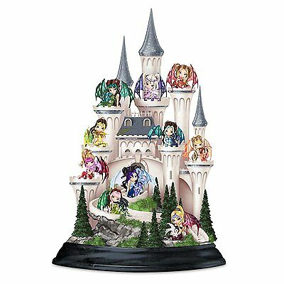 Castle Of Dragons Figurines Set By Jasmine Becket-Griffith
