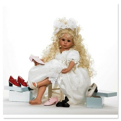 Ashton Drake - IF THE SHOE FITS doll by Linda Rick - 24'' H