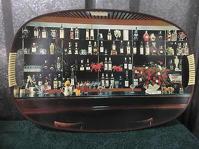 Vintage Cocktail Bar Tray - a unique piece for your bar!