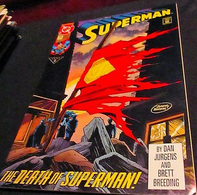 "SUPERMAN  1993 Comic Book:  ""The Death of Superman""  #75"