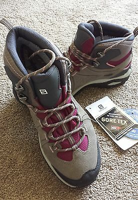 Saloman Women's hiking Boots - Elipse 2 mid Leather Goretex, New in box