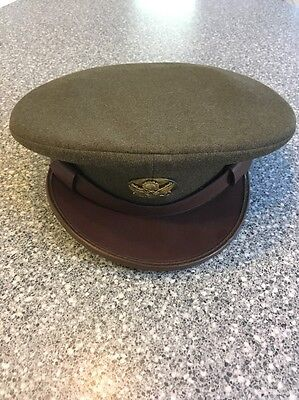 Rare Original Wwii Us Army Enlisted Man's Wool Hat