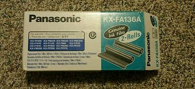 Panasonic KX-FA136A Genuine Ink Film only 1 roll