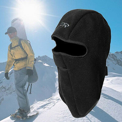 Winter Ski Motorcycle Fleece Thermal Balaclava Neck Full Face Mask Cap Cover US