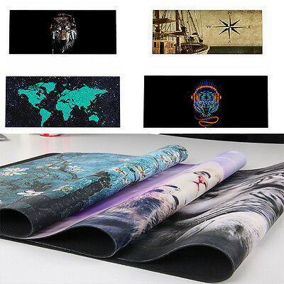 50 Prints Extended Gaming Wide Large Computer Mouse Pad Big Size Desk Mat