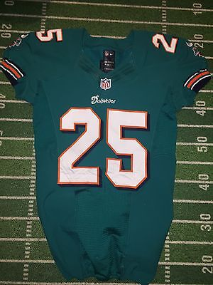 Jonathan Wade Game Used Worn Nike Jersey Miami  Dolphins Photomatched Falcons