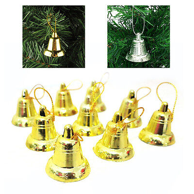 Christmas trees Decor 9PCS Christmas Decor Opening Bell Trumpet Bells Useful PO