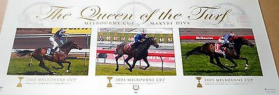 Makybe Diva ~The Queen Of The Turf ~ Print ~ Melbourne Cup
