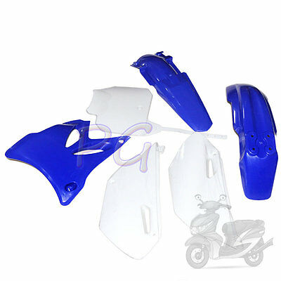 Brandnew Blue Yz85 Yz 85 Plastics Fenders Kit 2002-2014 Motoecycle