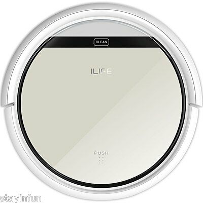 ilife Vacuum Cleaning Robot LCD Touch Remote Control Aspirador Christmas Gift