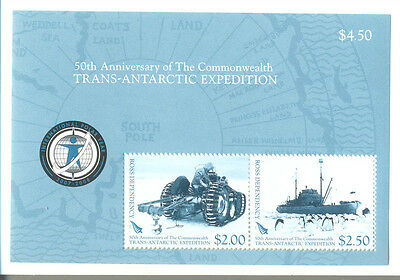 Ross Dependency-Trans-Antarctic Exped.Min sheet (109)Tractor-Endeavour Ship