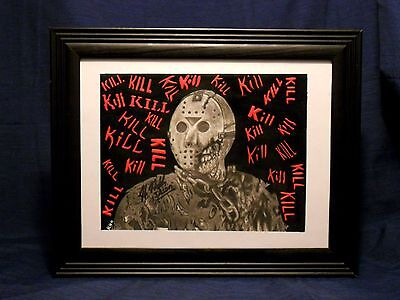 The Crystal Lake Slasher (Jason Voorhees) 8x10 Photo Print - By. Kevin