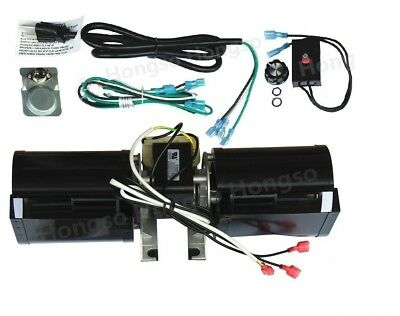 Heat N Glow GFK-160A, Rotom # R7-RB168, Jakel Replacement Fireplace Blower Kit
