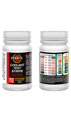 PENRITE COOLANT TEST STRIPS 50 per CONTAINER