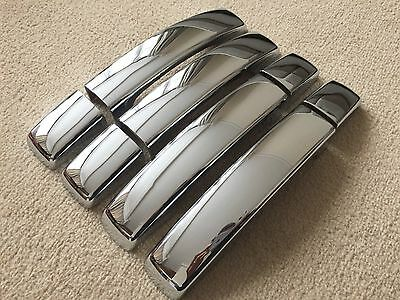 Chrome Door Handle Covers Fits Land Rover Freelander 2 2005-2010 Premium
